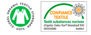 Label GOTS & Certification Oekotex 100 – Confiance Textile